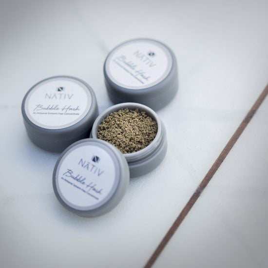 Nativ - NATIV - BUBBLE HASH 1g - GreenDoorWest.com - 1