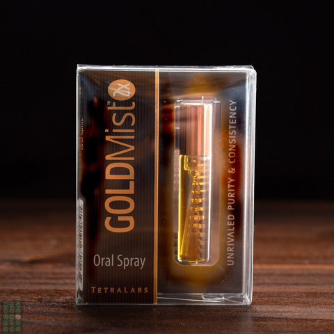 TetraLabs™ - GoldMist Oral Spray - GreenDoorWest.com - 1