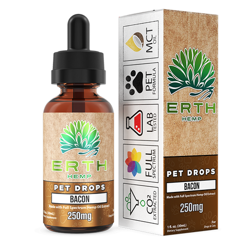 Erth Hemp - Full Spectrum CBD Oil Extract Pet Drops