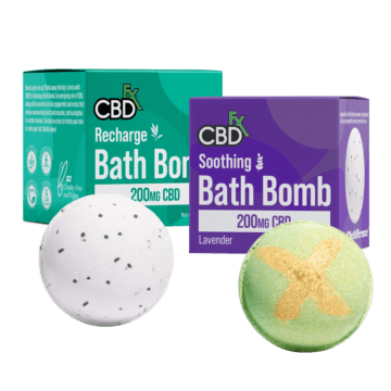 CBDfx - Bath Bombs 200mg CBD | Green Door West