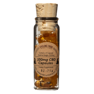 Cycling Frog - High Dose CBD Capsules