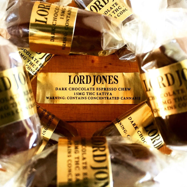 Lord Jones Dark Chocolate Espresso Chew