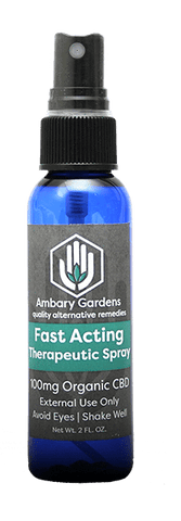 Fast Acting Therapeutic Spray