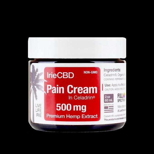 IrieCBD - CBD Pain Cream With Celadrin