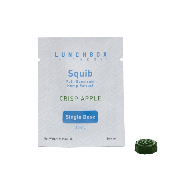 Lunchbox Alchemy - CBD Squibs - Crisp Apple 20mg - GreenDoorWest.com