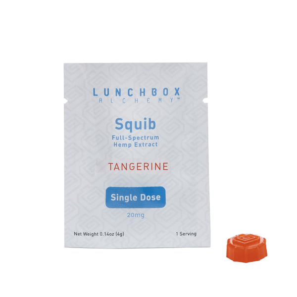 Lunchbox Alchemy - CBD Squibs - Tangerine 20mg - GreenDoorWest.com