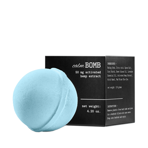 Mary's Nutritionals - CBD Calm Bath Bomb - GreenDoorWest - 1