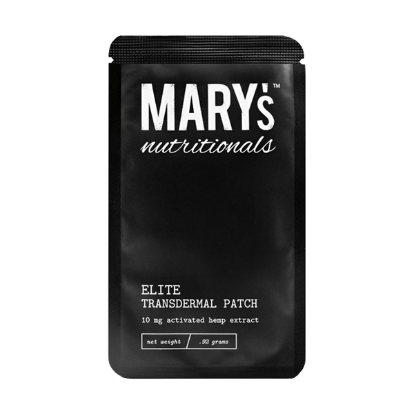 Mary's Nutritionals - Elite CBD Transdermal Patch - GreenDoorWest.com - 1