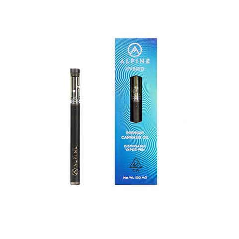 Alpine Live Resin Disposable Vapor Pen