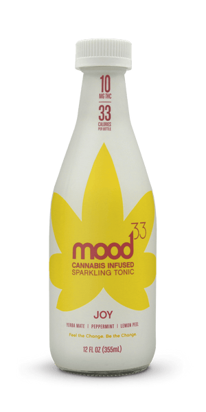 Mood33 - Cannabis Infused Sparkling Tonic