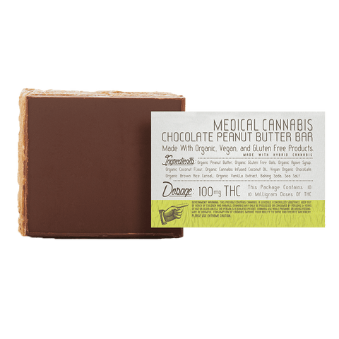 Korova - Chocolate Peanut Butter Bar - 100mg THC