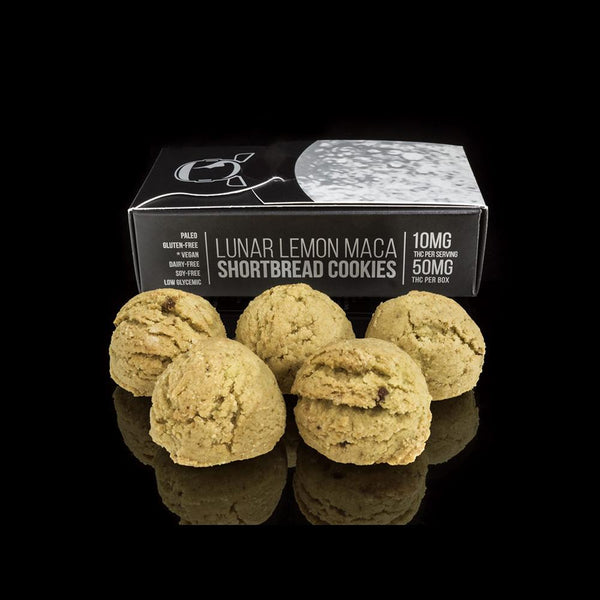 Lunar Lemon Maca Shortbread Cookie