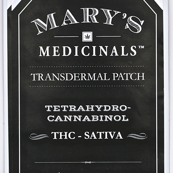 Mary's Medicinals - Transdermal Patch - THC Sativa - GreenDoorWest.com - 4