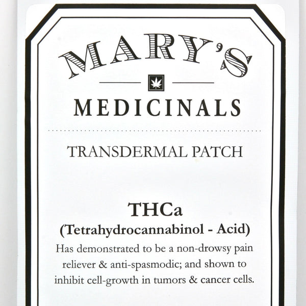 Mary's Medicinals - Transdermal Patch - THCa - GreenDoorWest.com - 4