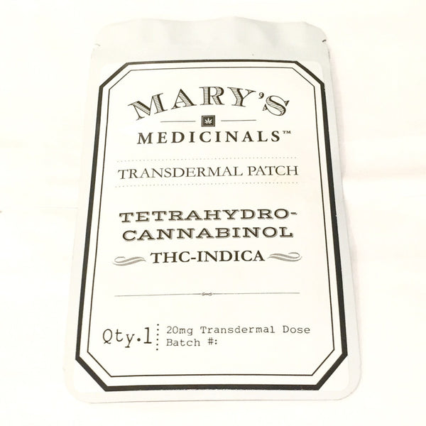 Mary's Medicinals - Transdermal Patch - THC Indica - GreenDoorWest.com - 4