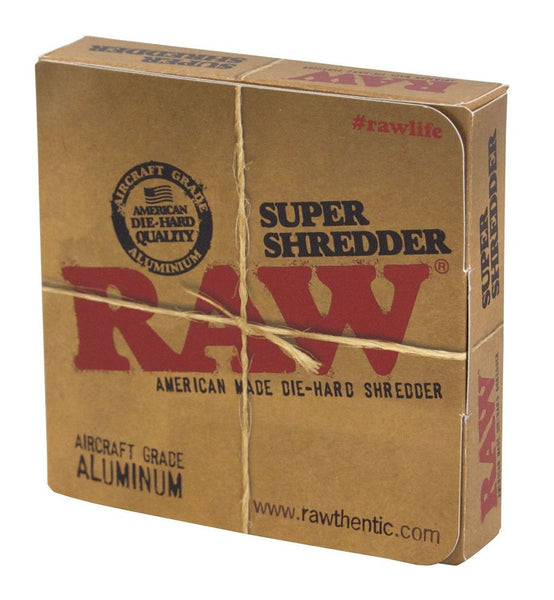 Raw - Super Shredder - GreenDoorWest.com - 2