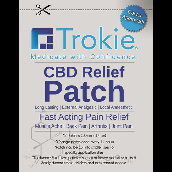 Adults Only 21 Up: Best Trokie - CBD Relief Patch