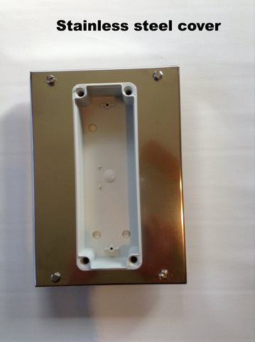 Enclosure cover + control box # M2002