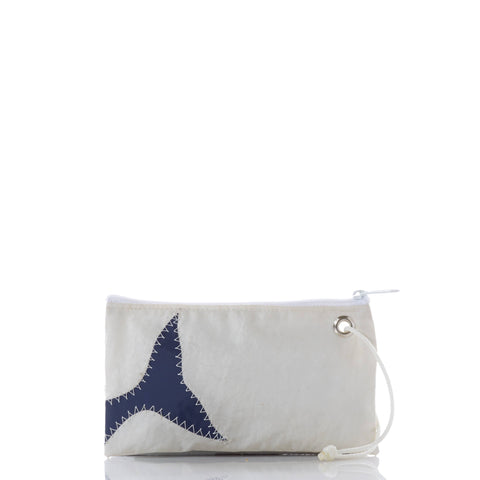 Wristlet, Navy Whale Tail