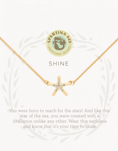 Sea La Vie Shine Necklace - Gold