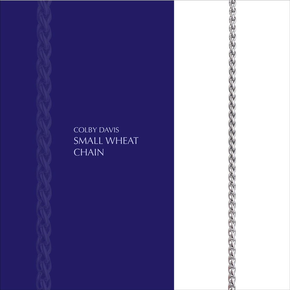 Colby Davis Chain: Small Wheat
