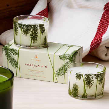 CANDLE SET - Frasier Fir