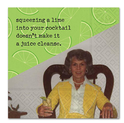 Funny Cocktail Napkins - Assorted Sayings
