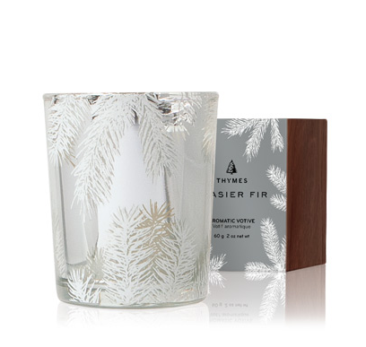 STATEMENT BOXED VOTIVE CANDLE - Frasier Fir