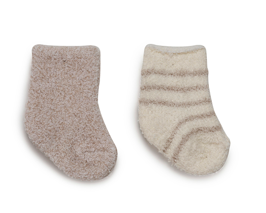 2 Pair Infant Socks - Assorted Colors