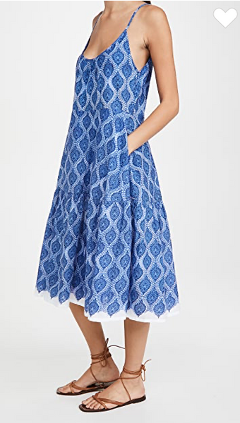 Danu Block Dakota Dress - Blue