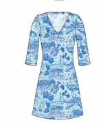 Load image into Gallery viewer, LULU DRESS - MARBLEHEAD