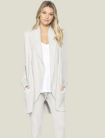 Load image into Gallery viewer, CozyChic Ultra Lite Circle Cardi - Silver