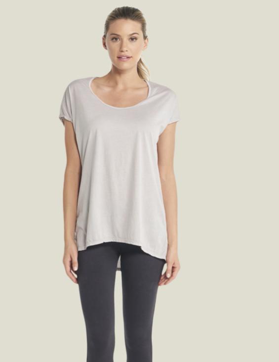 Malibu Collection - Assorted Scoop Neck Tunic