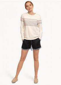 BAINBRIDGE SWEATER - Resort White