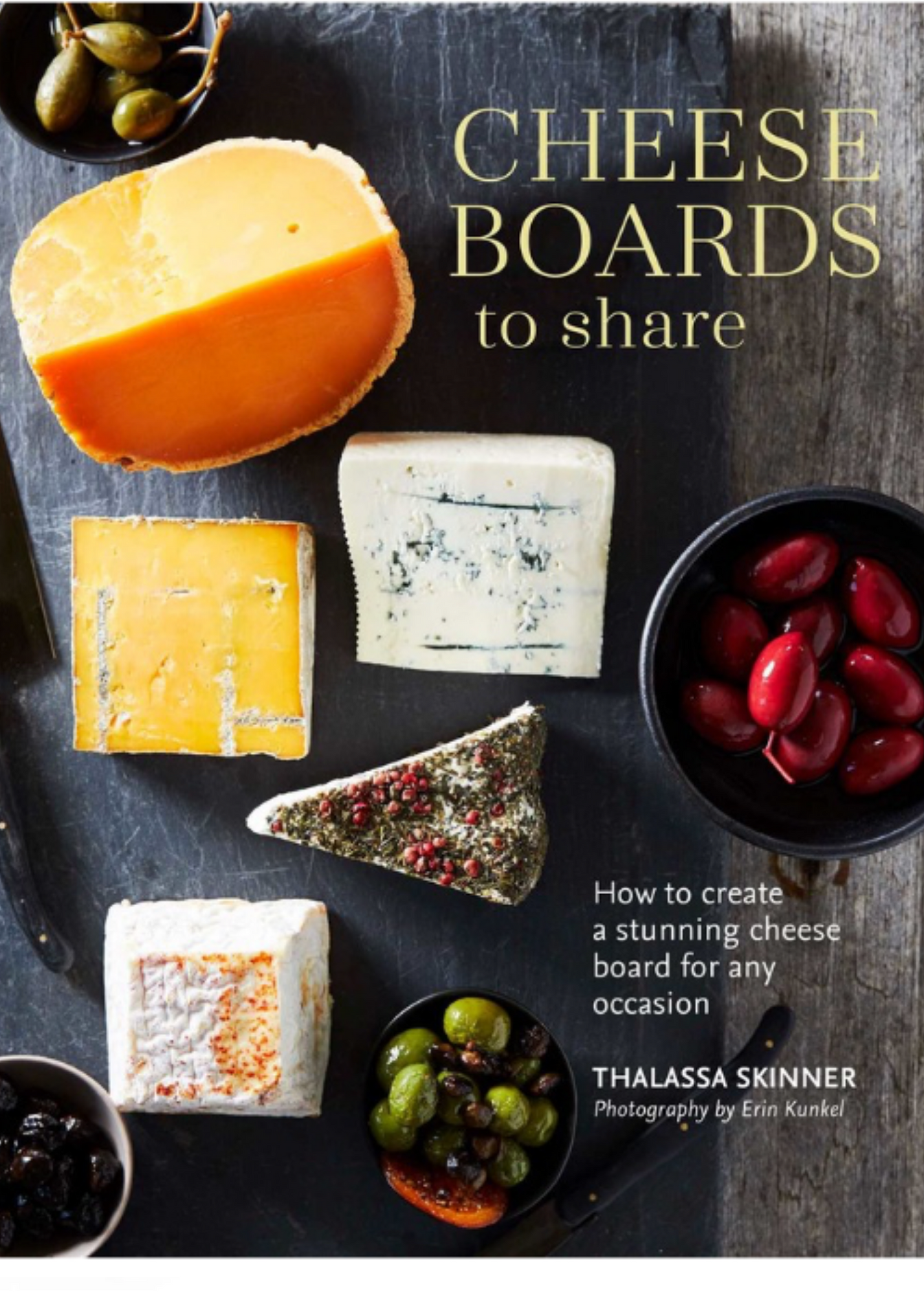 Book - CHEESE BOARDS to share