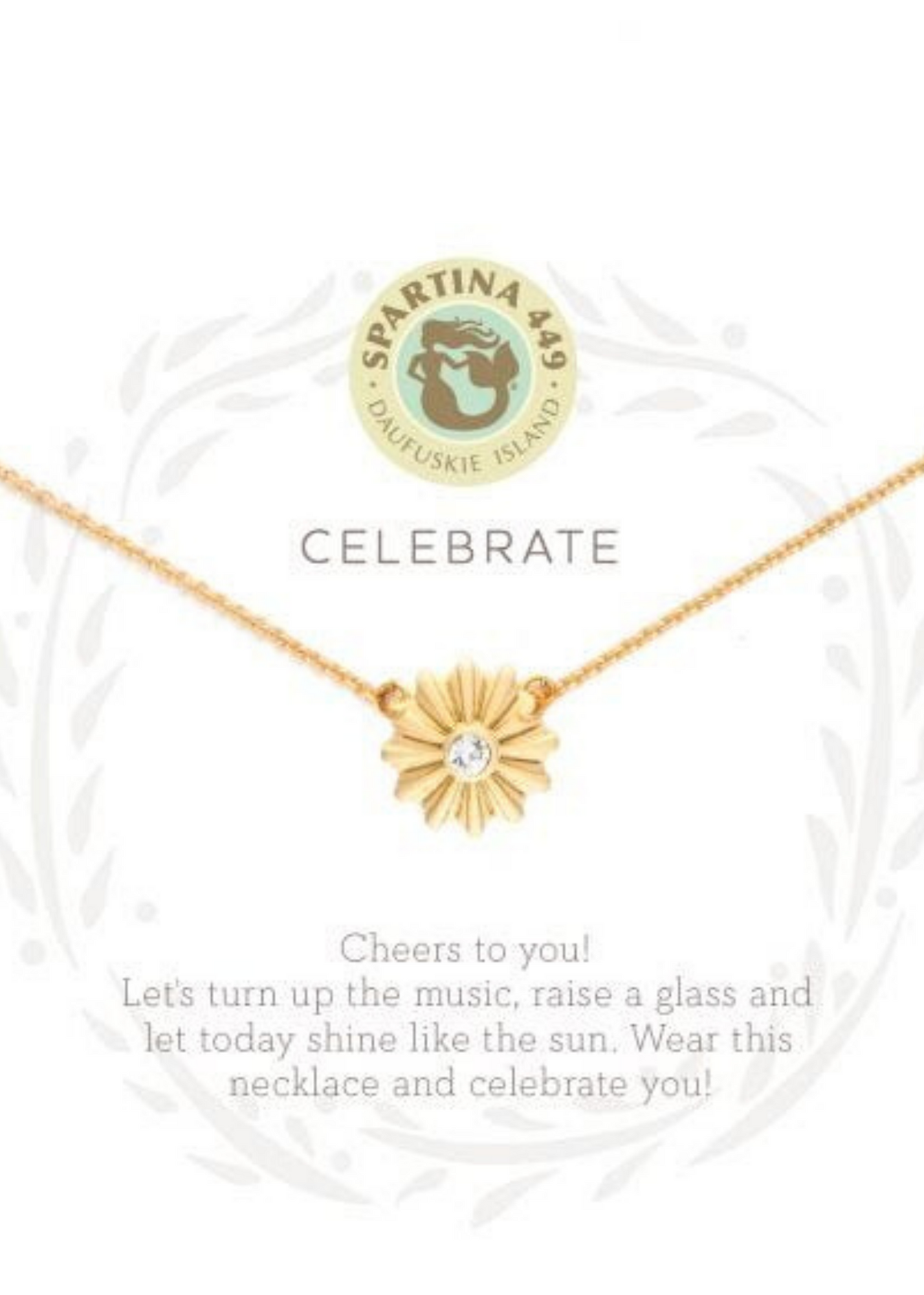 Sea La Vie Celebrate Necklace - Gold