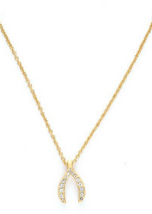 Sea La Vie Wish Necklace - Gold