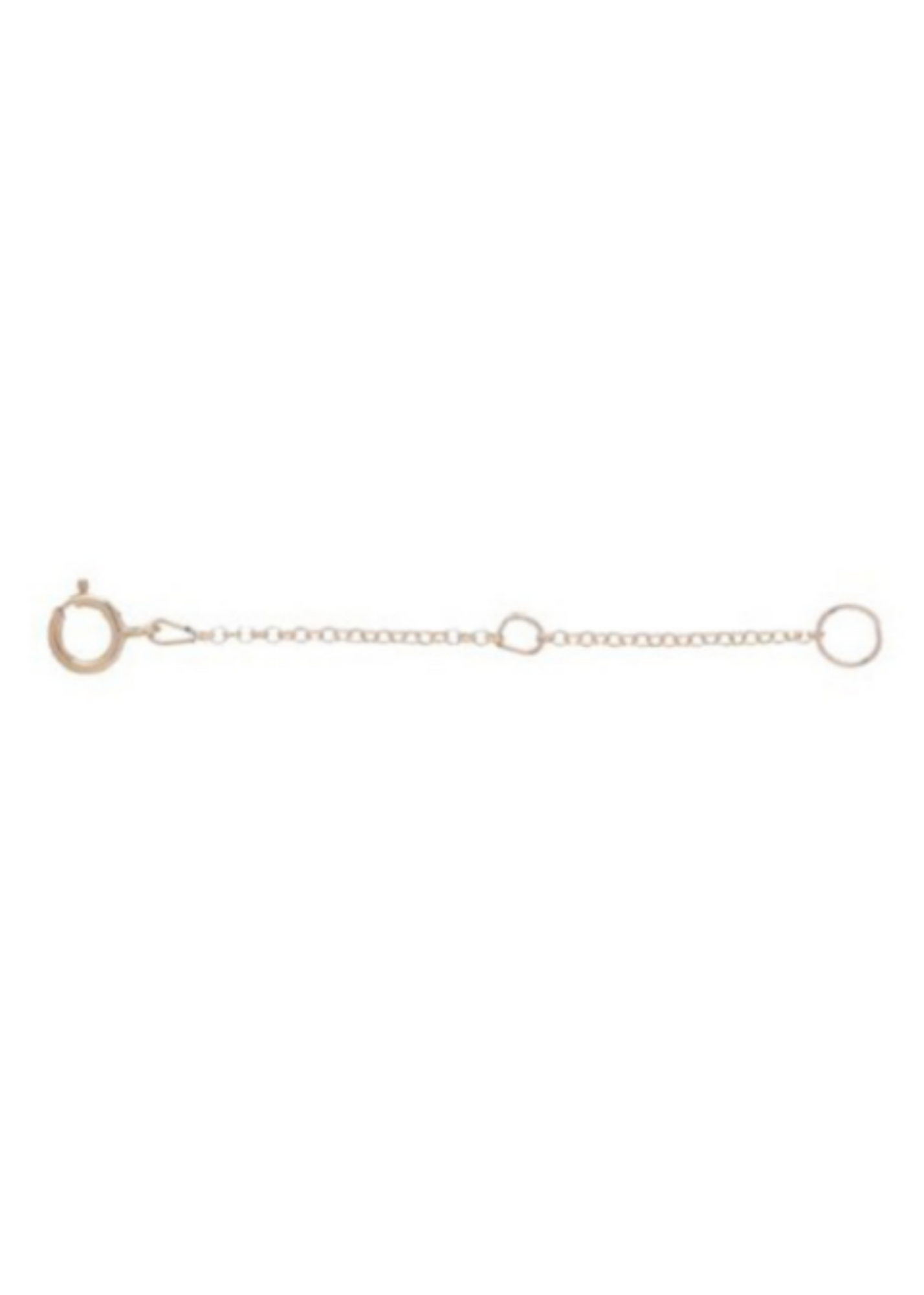 Necklace Extender Gold 2""