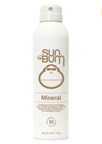 Mineral SPF 50 Sunscreen Spray