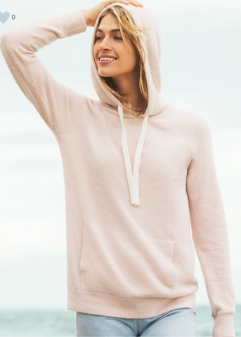 CozyChic Lite Pullover Hoodie - Pink