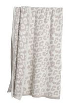Load image into Gallery viewer, COZYCHIC BAREFOOT IN THE WILD THROW - Cream / Stone