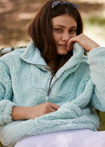 Nantucket Fleece - Iced Aqua