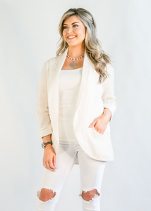 Brianna - Light Khaki Blazer