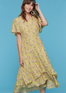 PRANA FILENA DRESS - Yellow