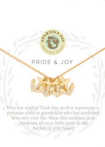 SEA LA VIE PRIDE & JOY FOUR NECKLACE - Gold