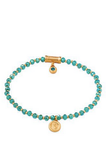 Twinkle Stretch Bracelet - Aqua/Mermaid