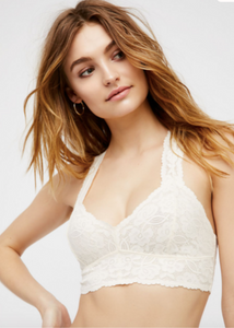 Galloon Lace Racerback - Ivory