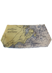 SMALL COSMETICS BAG - Marblehead Chart