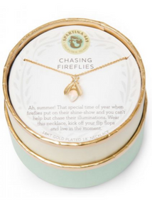 Sea La Vie Chasing Fireflies Necklace- Gold