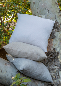COZYCHIC RIBBED PILLOW - Pewter/Pearl